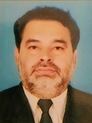 Dr. Ghulam Raza Chana Editor Inchief