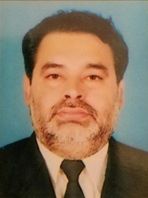 Dr. Ghulam Raza Chana Editor Inchief
